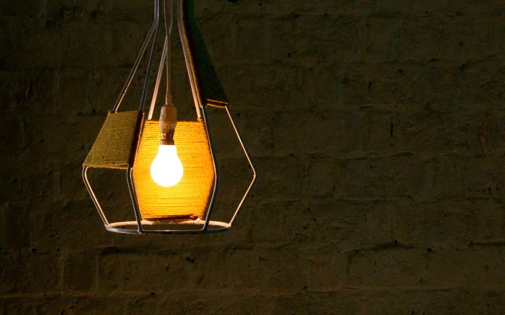 Funnel Lamp 1