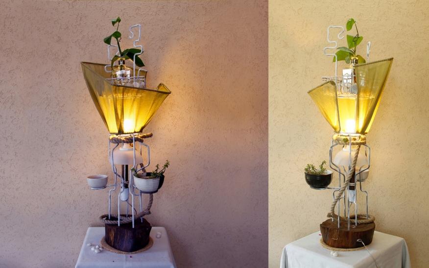 Planter Lamp 1
