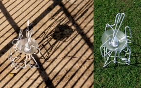 Skeleton Lamp 3