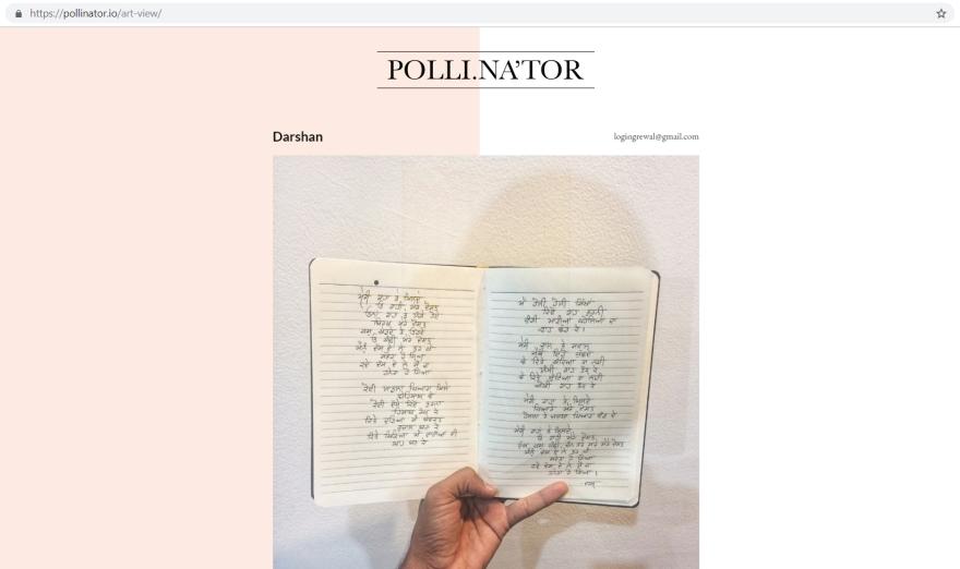 darshan @ pollinator.io