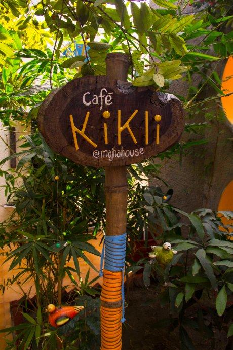 MH Kikli Cafe Signage design