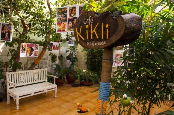 MH Kikli Cafe Signage