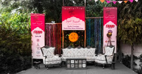 MH Syal Festival Stage