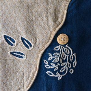 Button Leaves Kurta 04