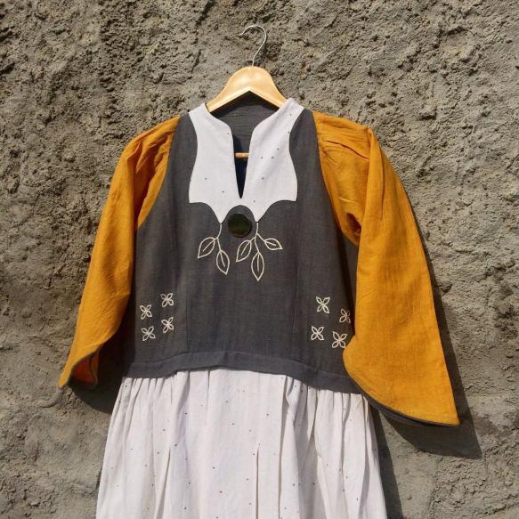 Yellow Fly Kurta 05