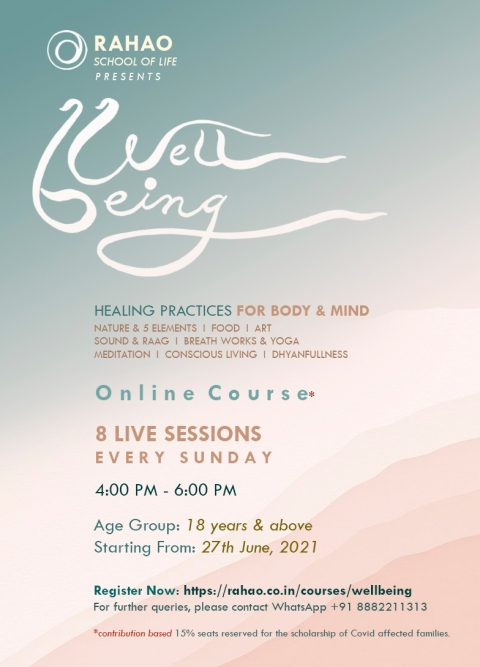 Rahao WELLBEING online course